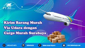 Cargo Murah Surabaya: Kirim Barang Lewat Cargo Udara