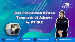 Jasa Pengiriman Hewan Jakarta Termurah by PT Indone Kargo Ekspress