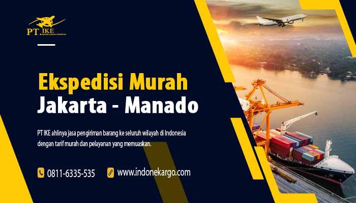 Jasa Pengiriman Ekspedisi Jakarta Manado Terbaik